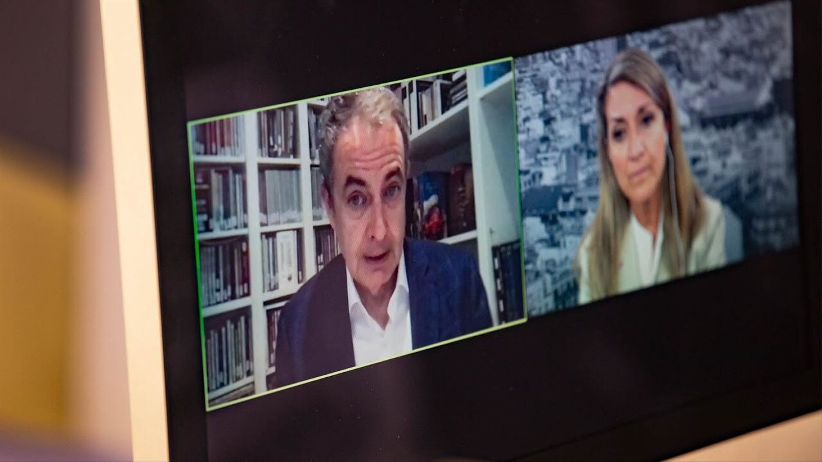 Entrevista d'Esther Vera a José Luis Rodríguez Zapatero