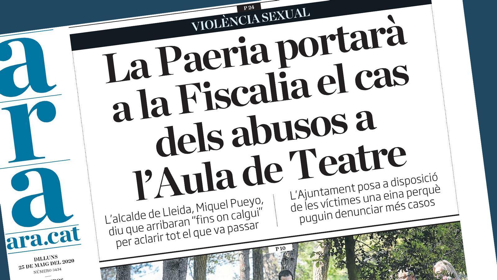 Barcelona obre les terrasses i la Paeria porta a Fiscalia els abusos destapats per l'ARA: les claus del dia, amb Antoni Bassas (25/05/2020)