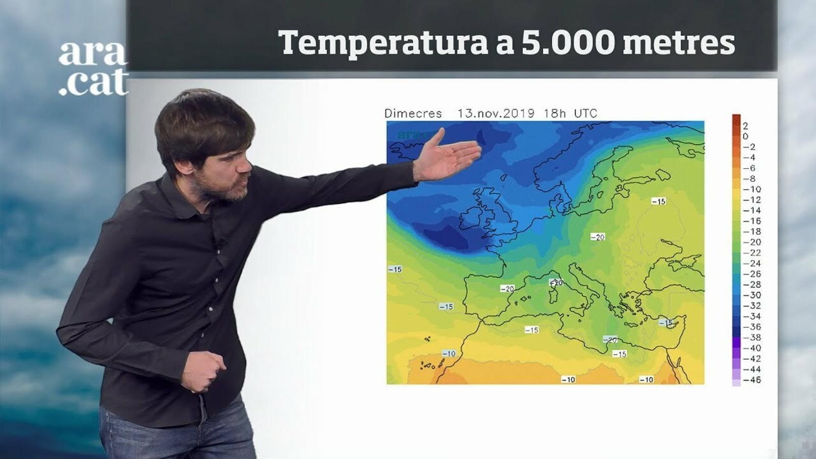 Méteo especial: xàfecs i temps canviant a l'espera d'un fred encara més intens