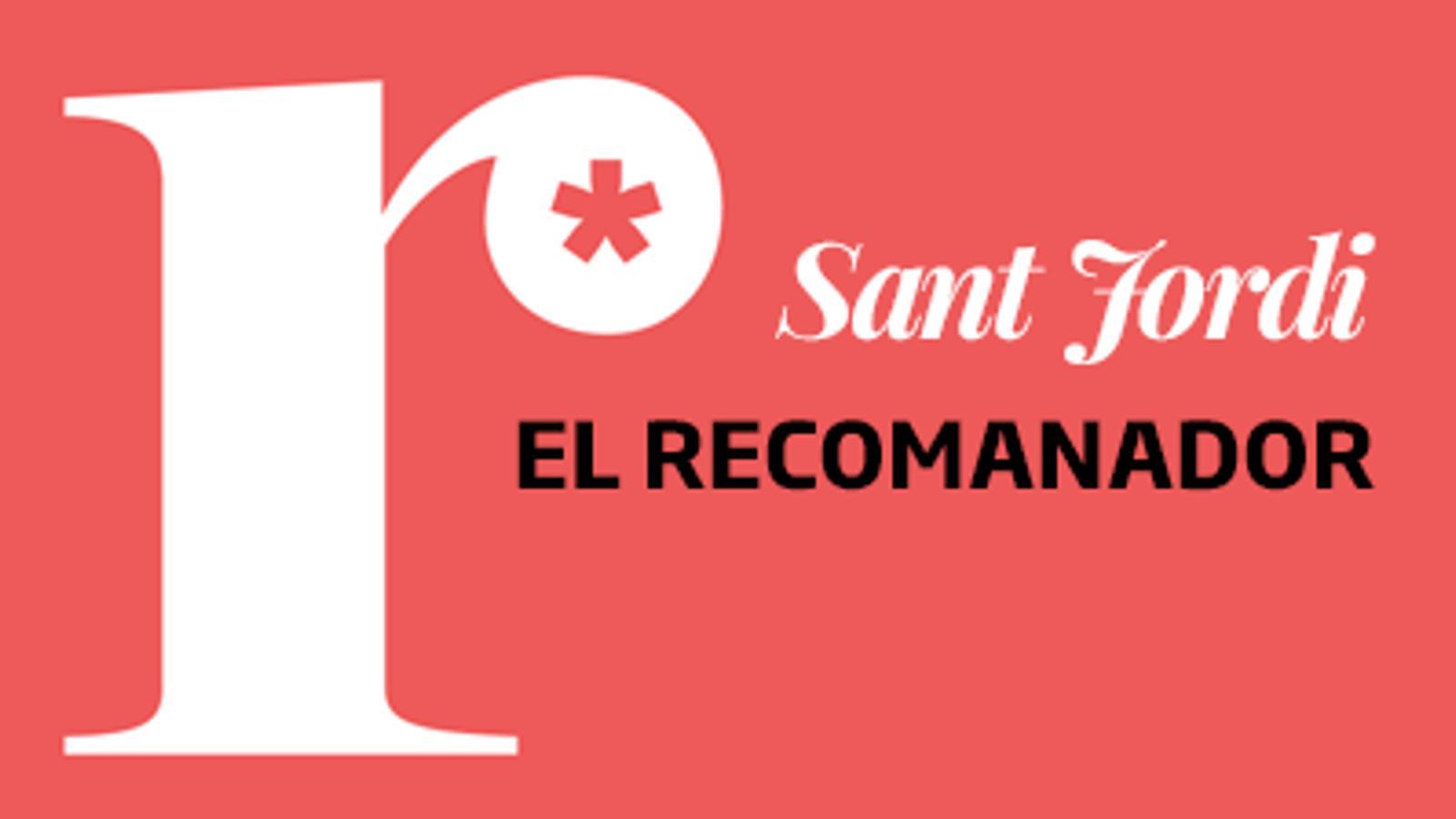 El recomanador de llibres de Sant Jordi