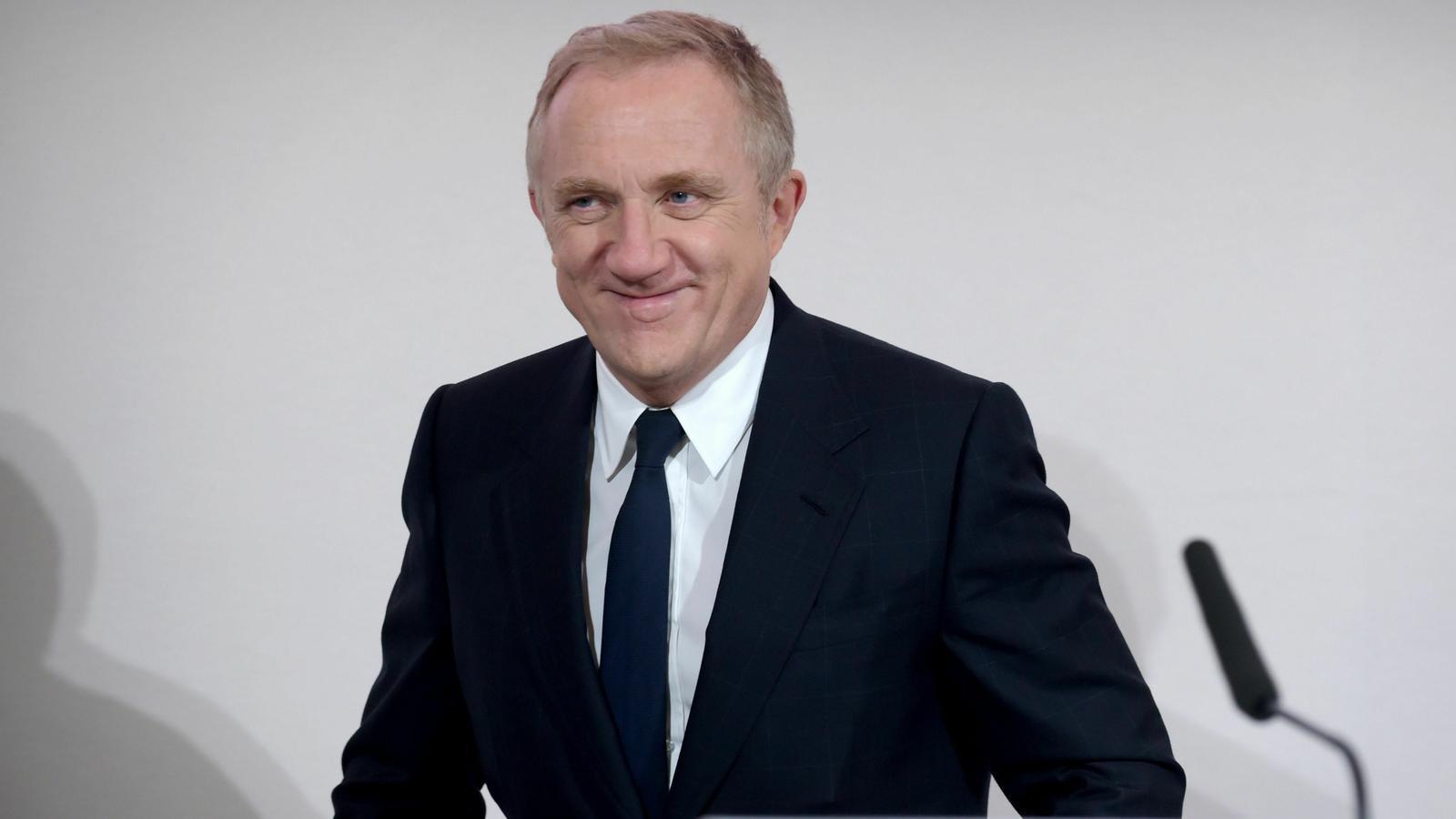 François-Henri Pinault, l'home que ha obert la veda de les donacions per a refer Notre-Dame amb 100 milions d'euros