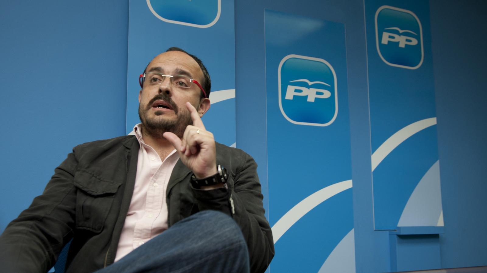 """El PP català assegura que el recurs d'empara de Puigdemont al TC demostra la seva """"paranoia"""""""