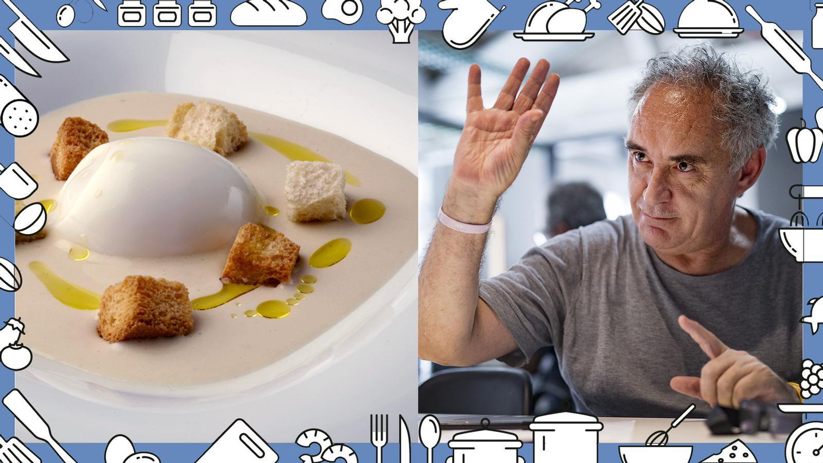 Com es fa la vichysoisse? La recepta del cuiner Ferran Adrià