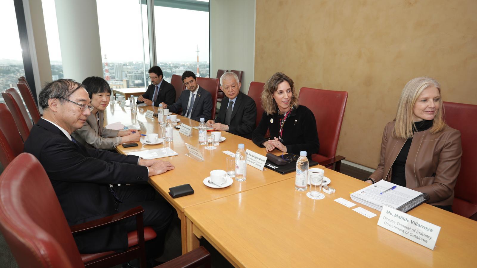La consellera d'Empresa diu que Nissan li ha refermat el compromís amb la planta de Barcelona