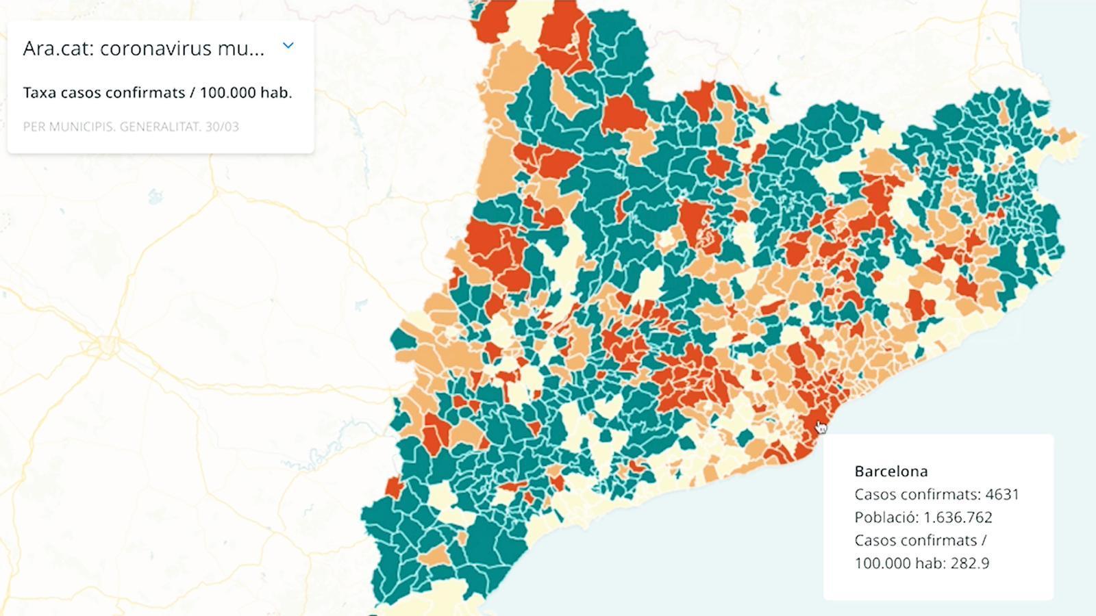 262, la xifra més alta de morts a Catalunya en un dia, i divendres podria arribar el pic d'infeccions: les claus del dia amb Antoni Bassas (31/03/2020)