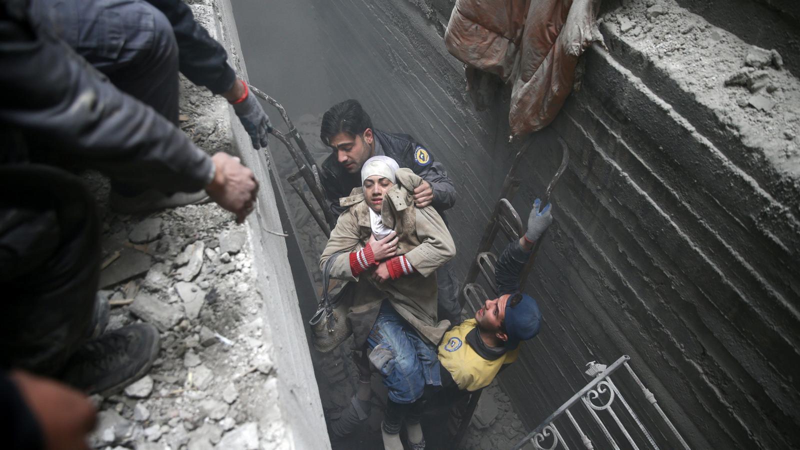 Al-Assad i Putin bombardegen sense treva els civils de Guta