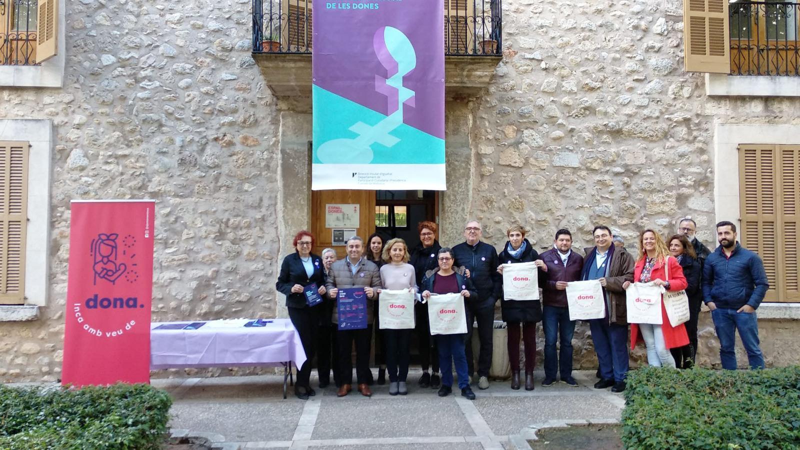Presentació del programa municipal 'Inca amb veu de dona'