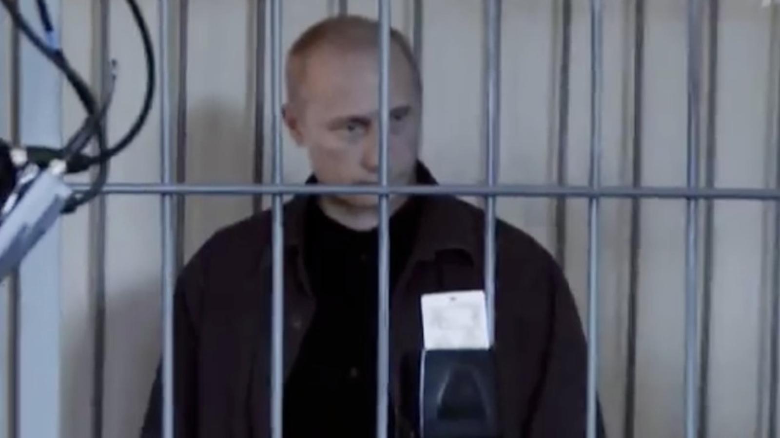 L'oposició russa imagina Putin engarjolat