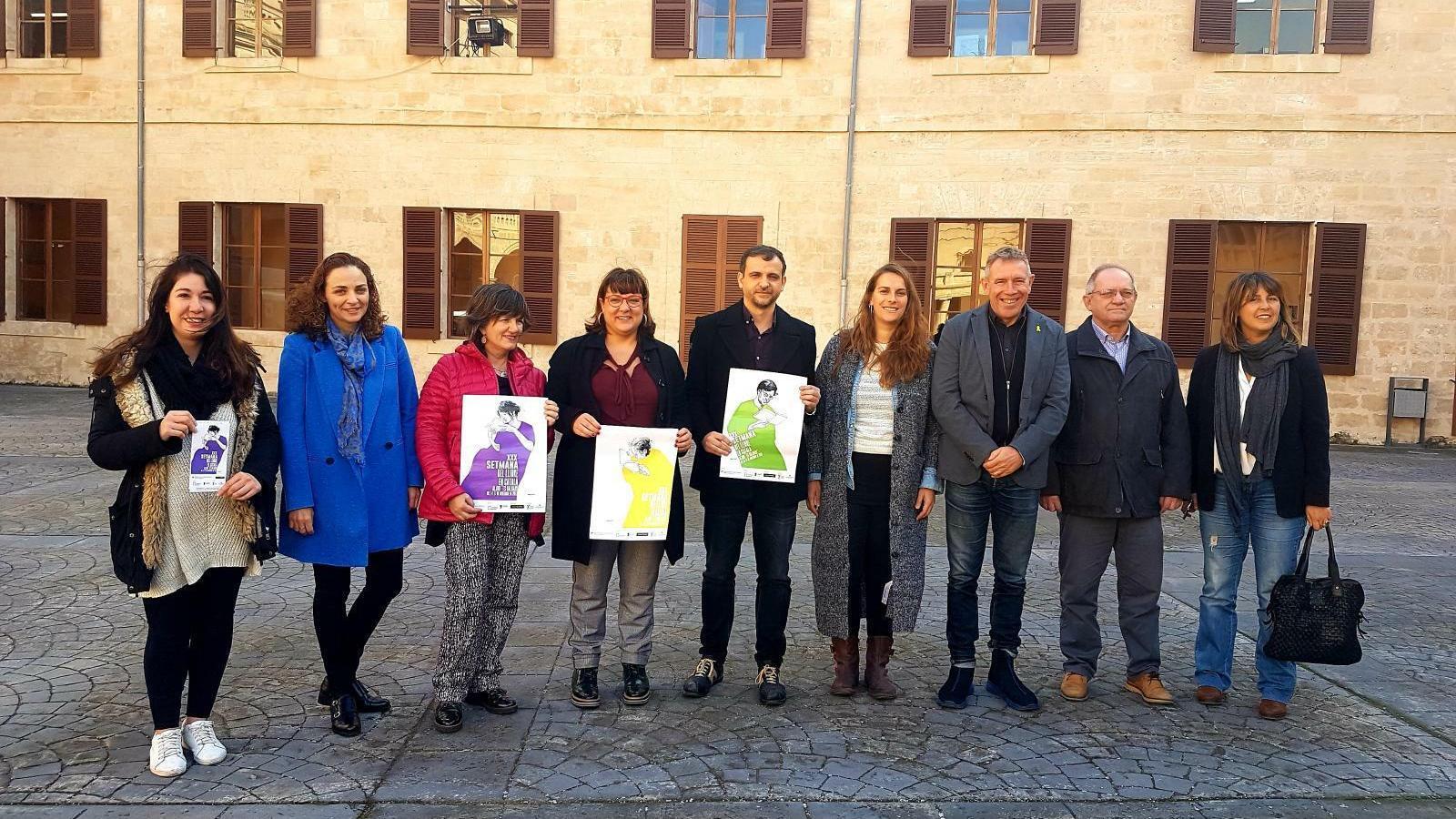 Imatge de la presentació de la Setmana del Llibre en català