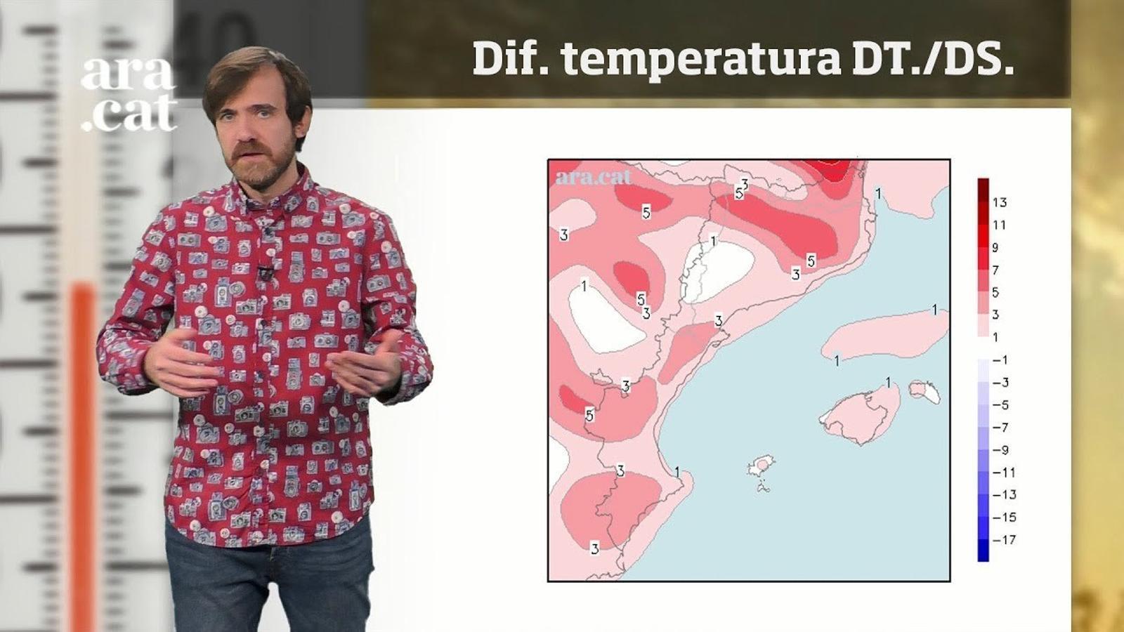 La méteo en 1 minut: l'hivern començarà amb una pujada de la temperatura