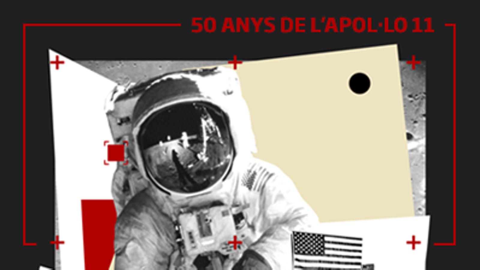 50 anys del primer viatge a la Lluna en 25 xifres