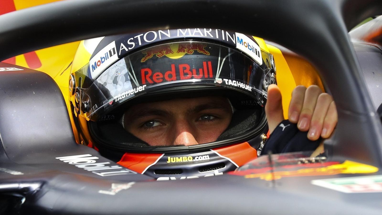 Max Verstappen, durant el Gran Premi de la Xina de F1