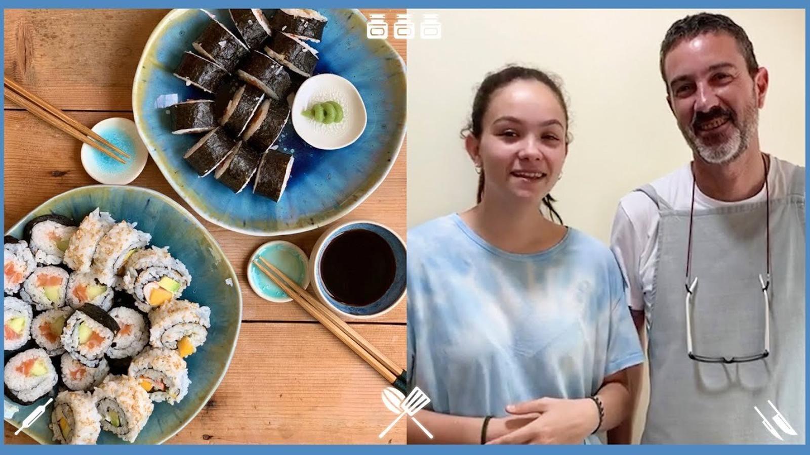 Com fer sushi amb la família?