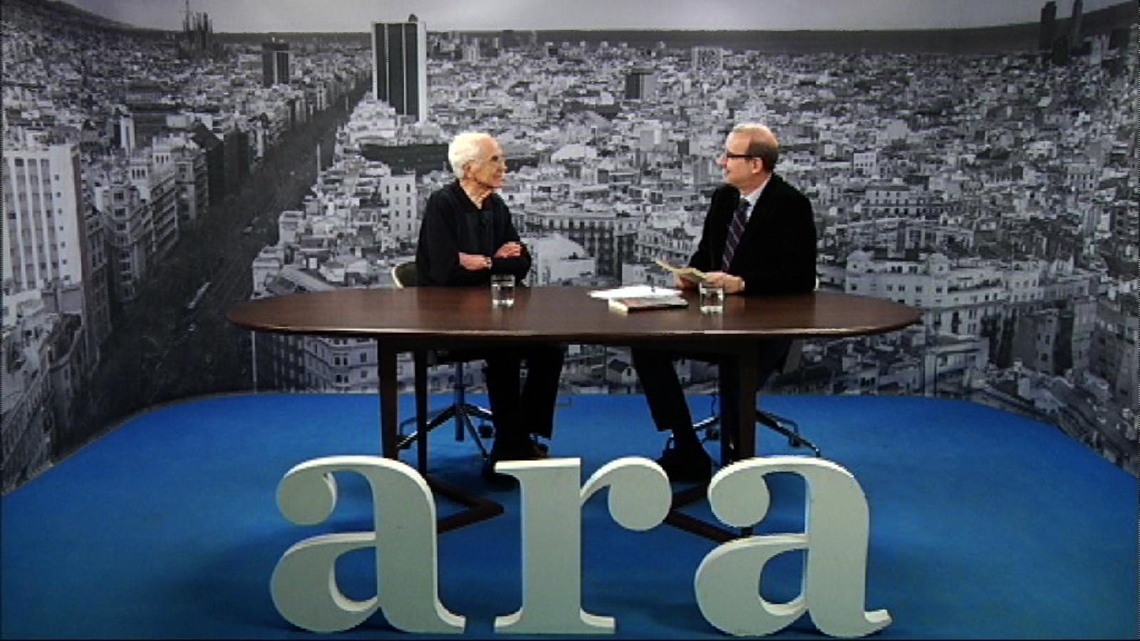 Entrevista d'Antoni Bassas a Josep Maria Espinàs