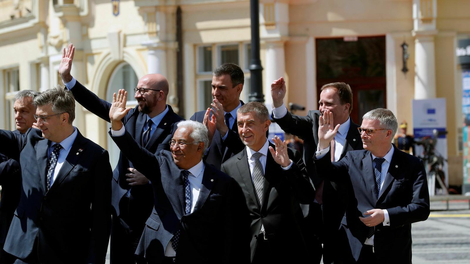 Els líders europeus ja pensen en repartir-se els càrrecs