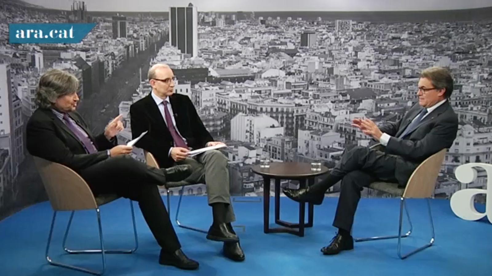 Mas a Carles Capdevila: La política no m'agrada molt