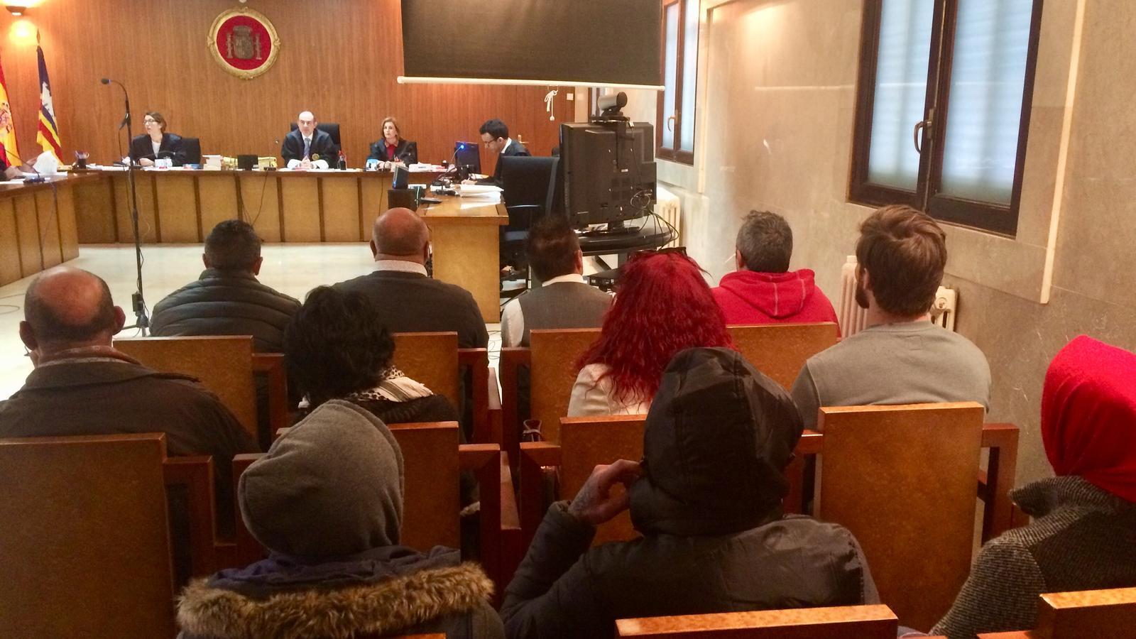 45 anys de presó per onze traficants que actuaven a la zona de Magaluf