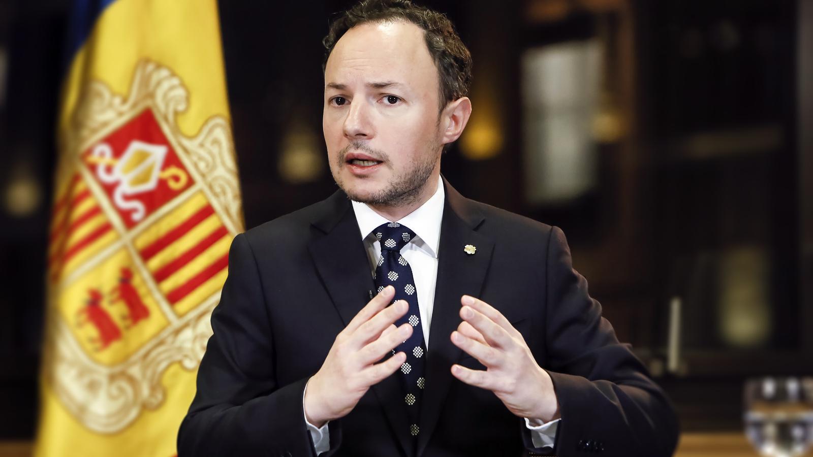 El cap de Govern, Xavier Espot. / SFG