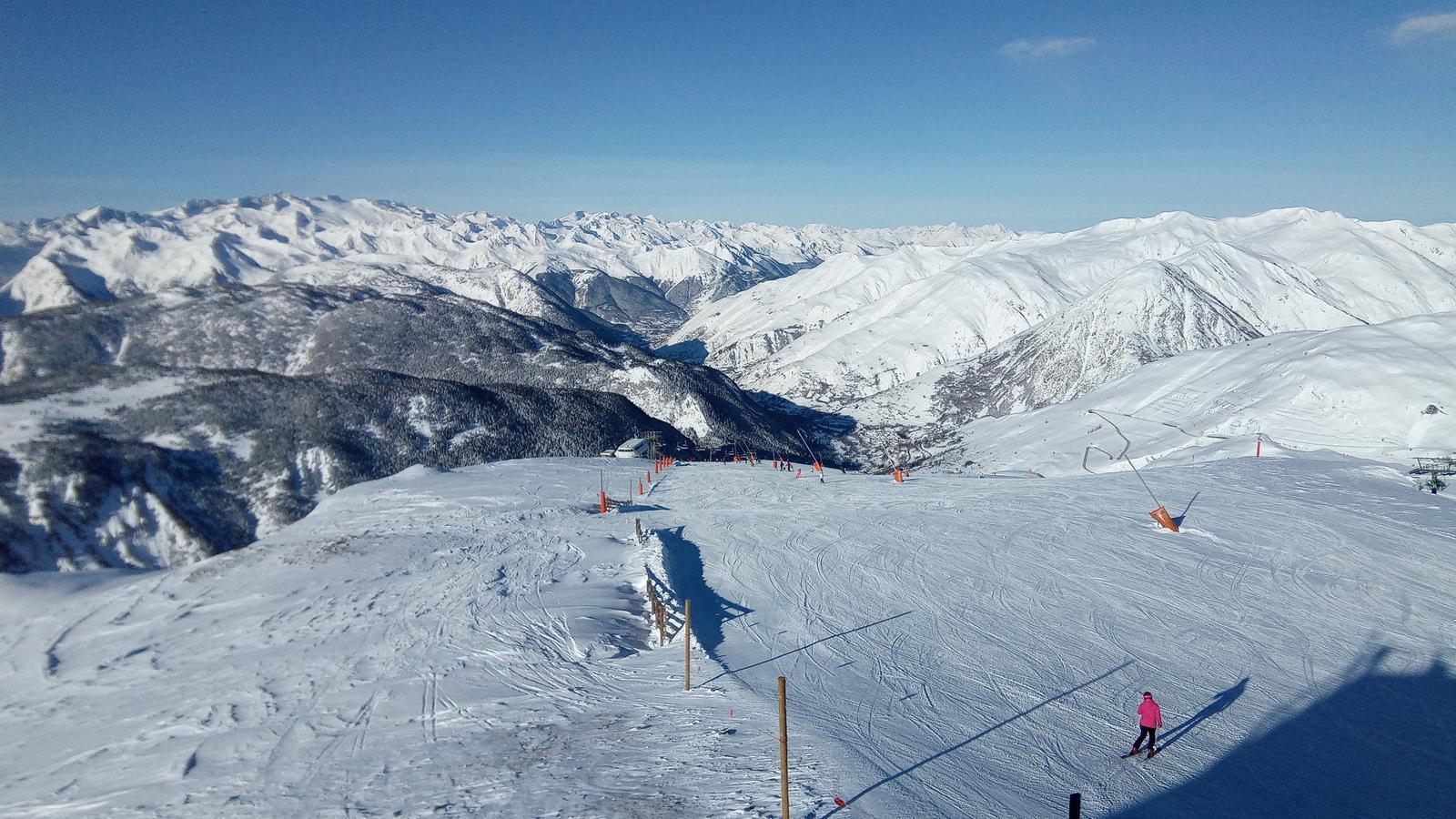Balanç dels gruixos de neu al vessant nord i sud del Pirineu: Bonaigua i Malniu