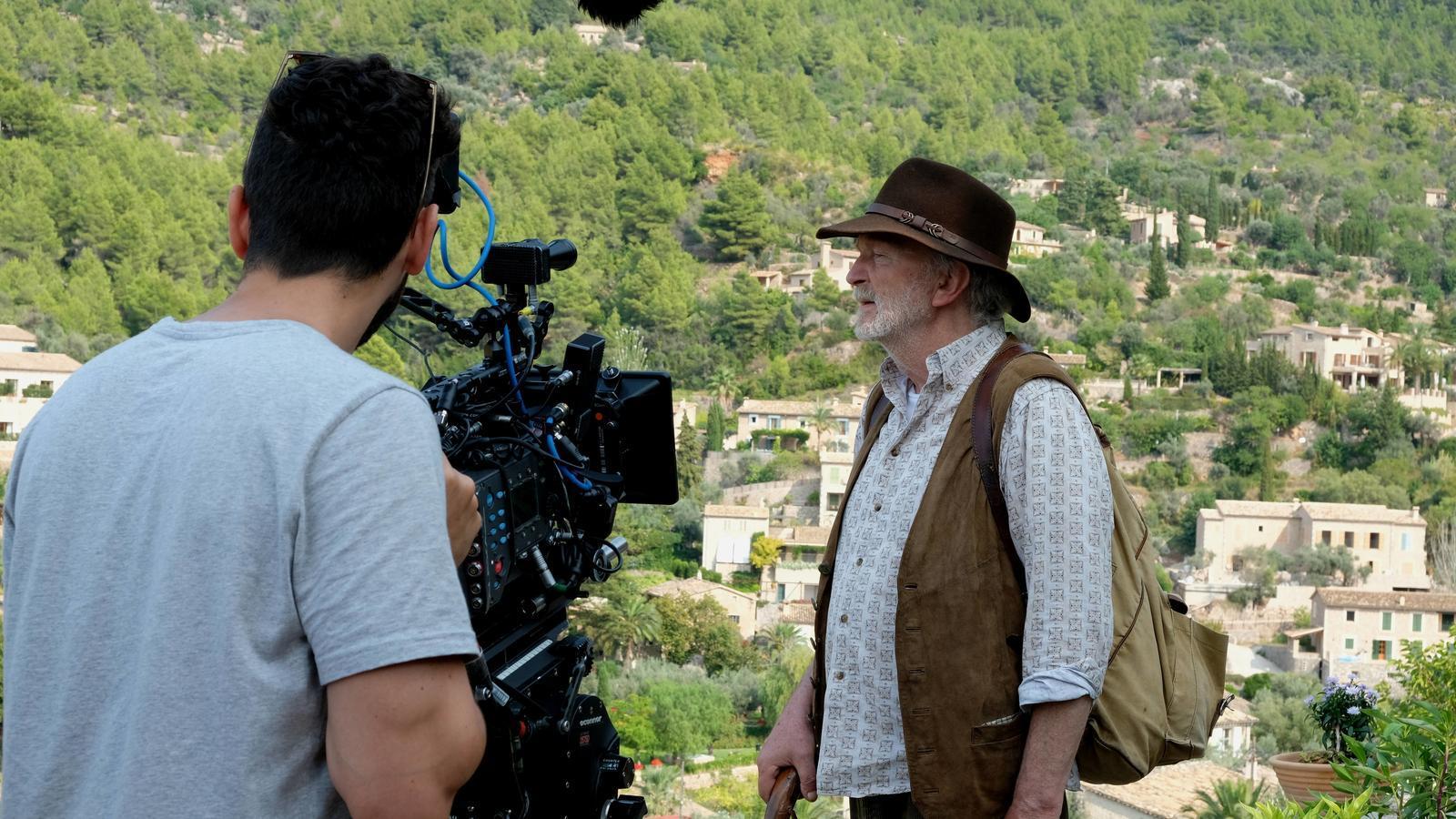 Rodatge de la pel·lícula alemanya 'El Camí de la Tramuntana'.