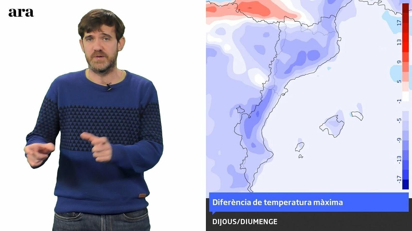 La méteo: cap de setmana més d'hivern a l'espera d'una situació de llevant