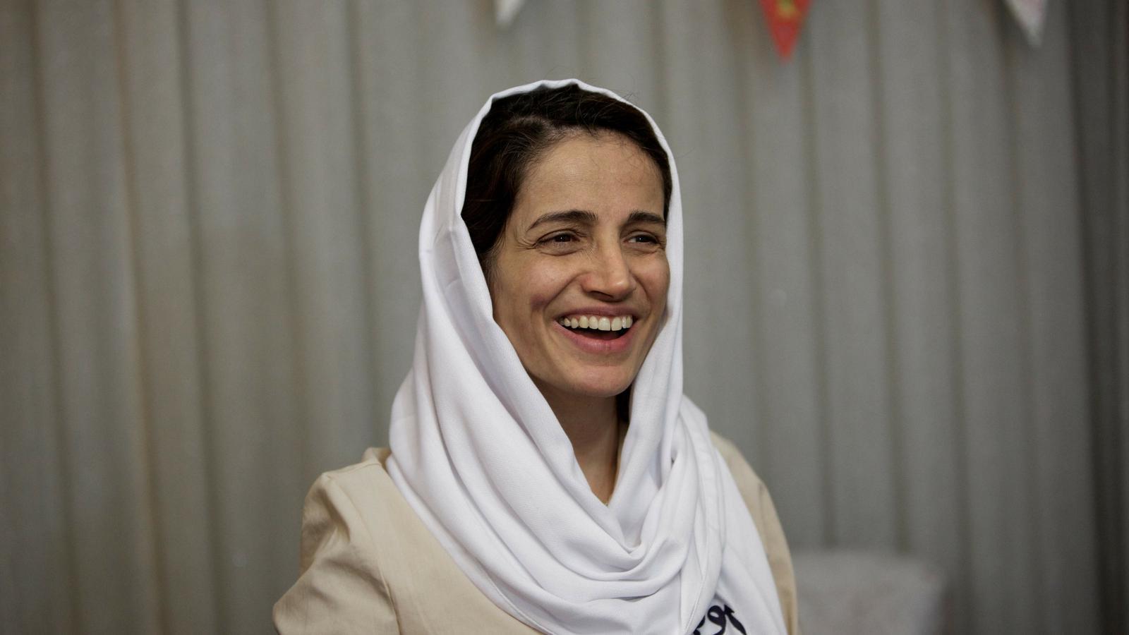 Nasrin Sotoudeh: empresonada a l'Iran per defensar els drets de les dones