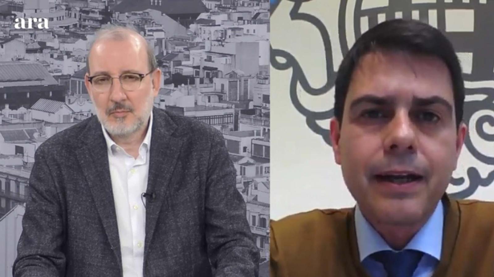 Entrevista d'Antoni Bassas a Marc Castells