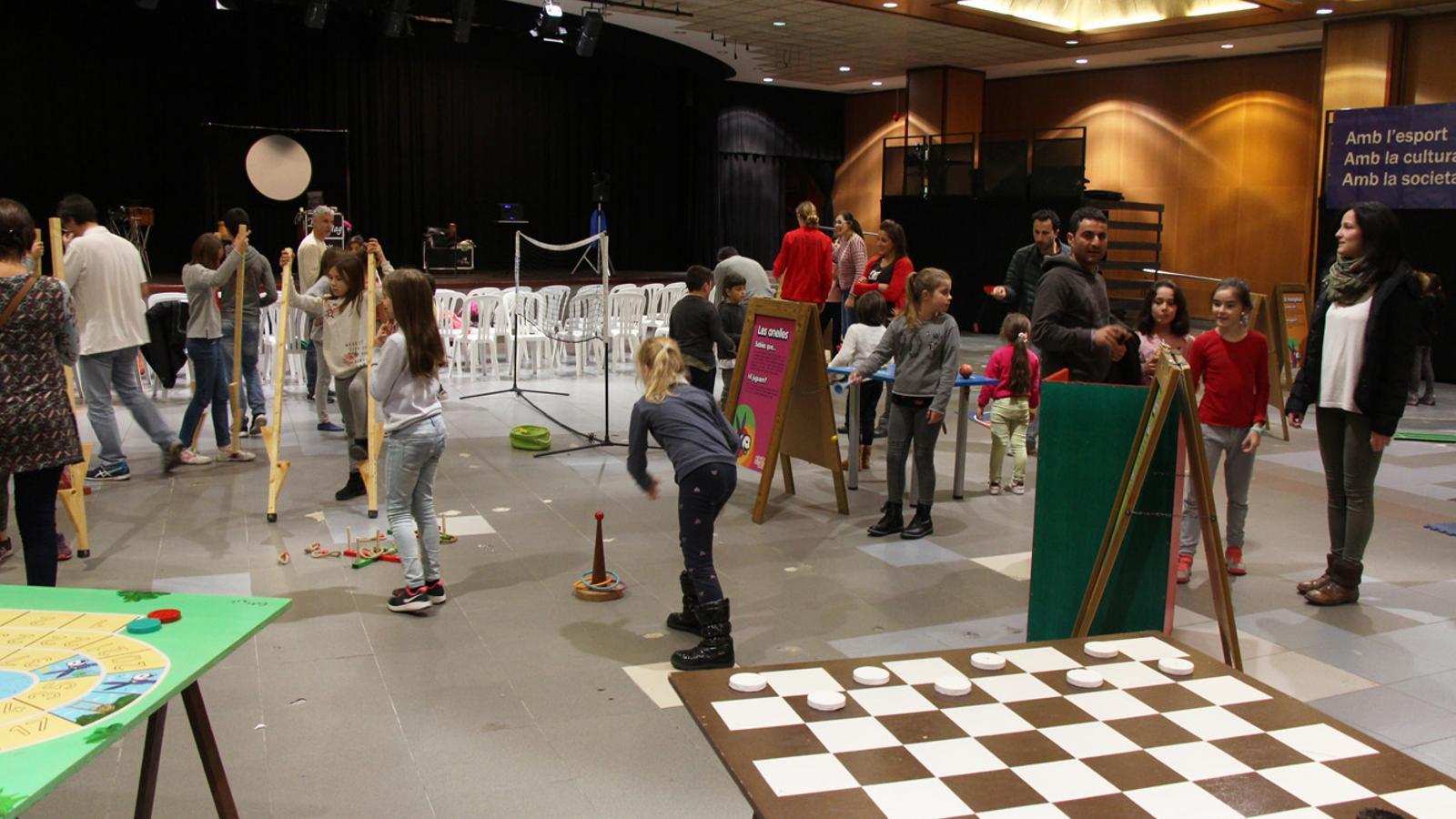 El Saló de la Infància i de la Joventut d'Encamp en una edició anterior / Arxiu ANA