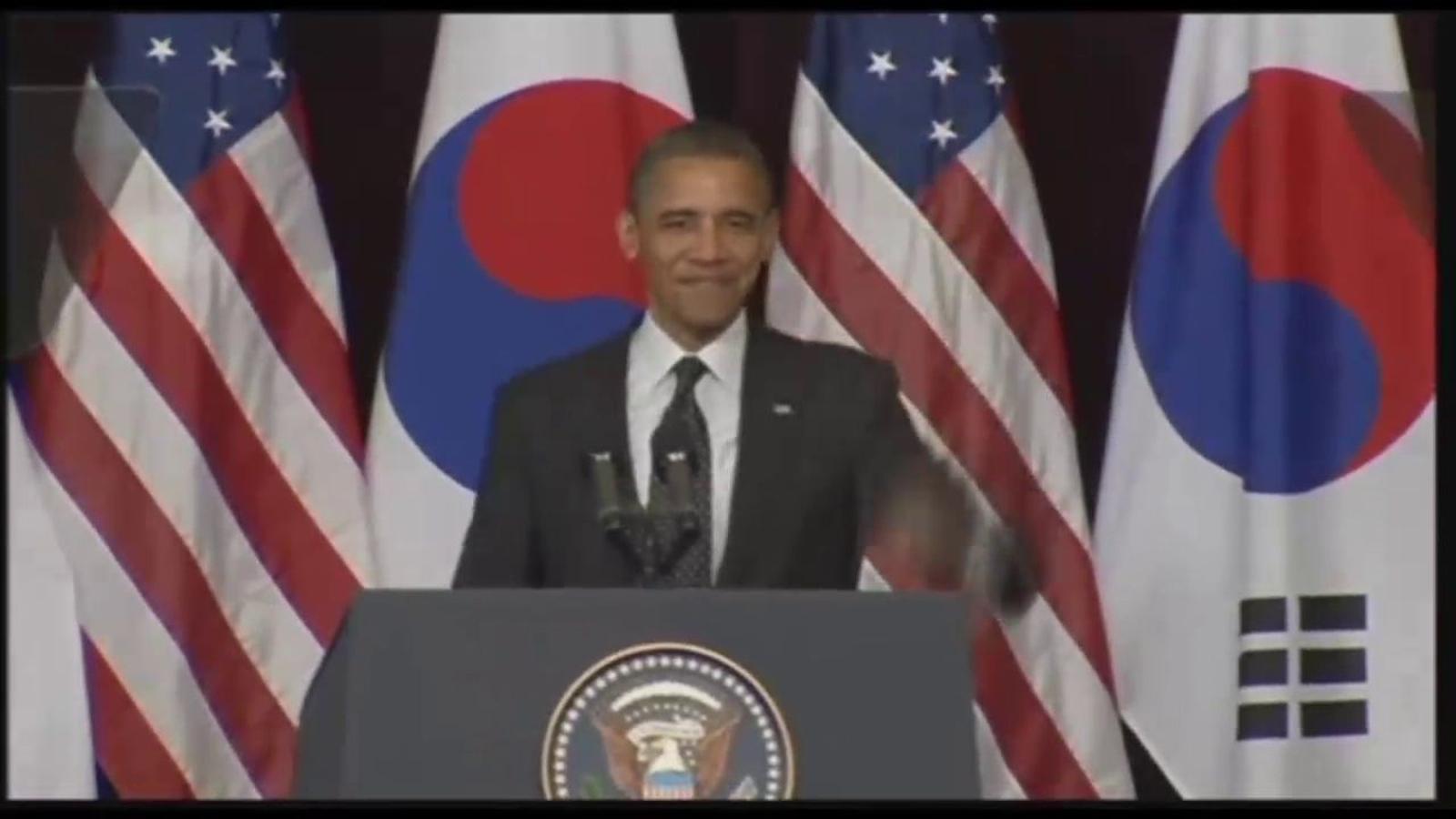 Obama planta cara als plans espacials de Corea del Nord