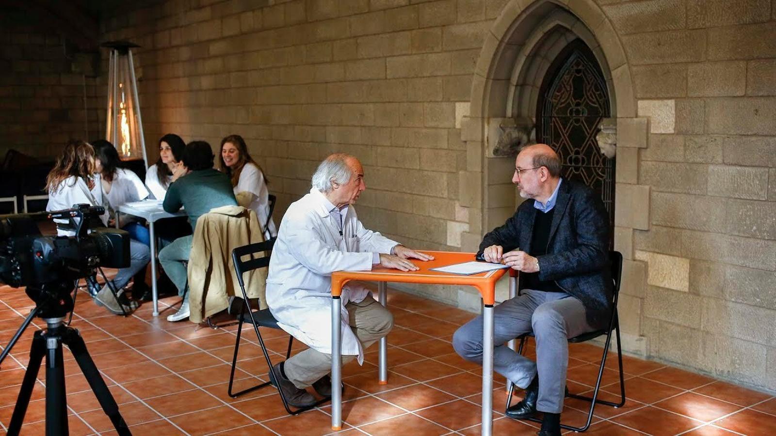 Entrevista d'Antoni Bassas a Jordi Delás