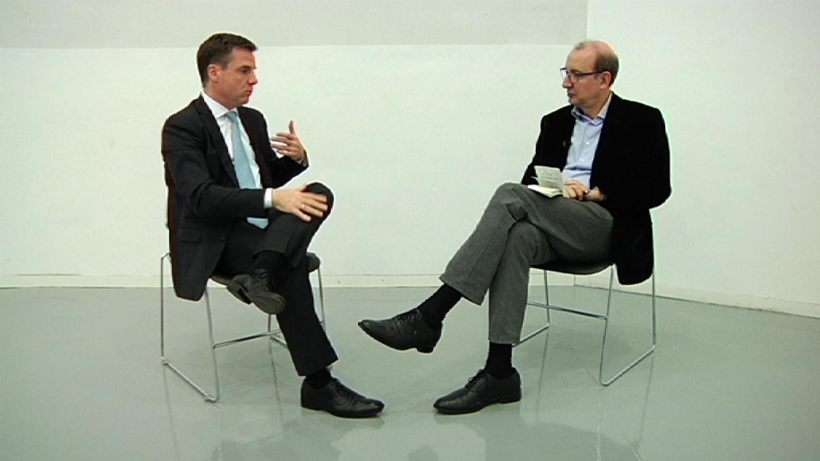 Entrevista d'Antoni Bassas a Israel Ruiz