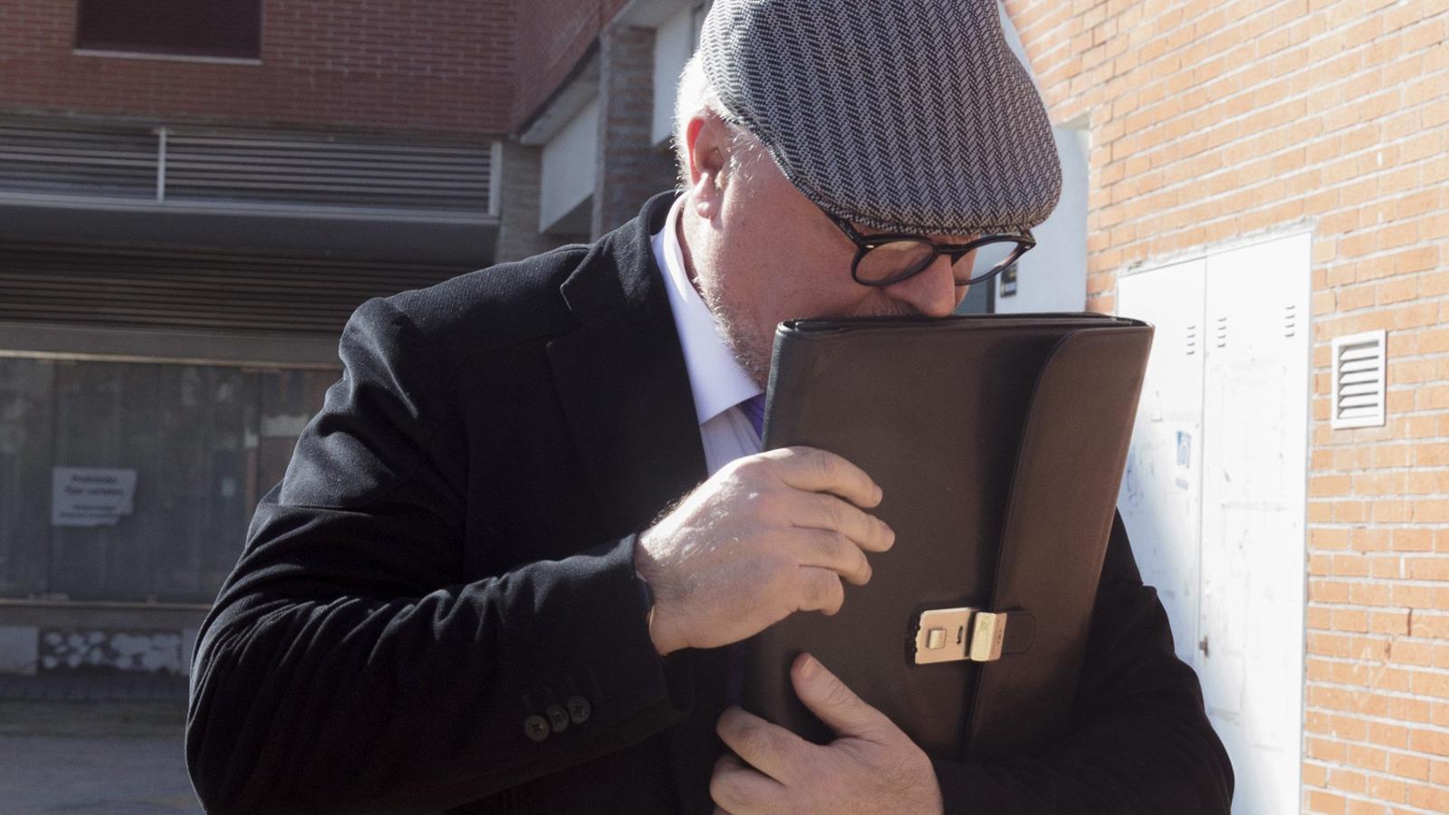 El comissari Villarejo, en una imatge d'arxiu del gener