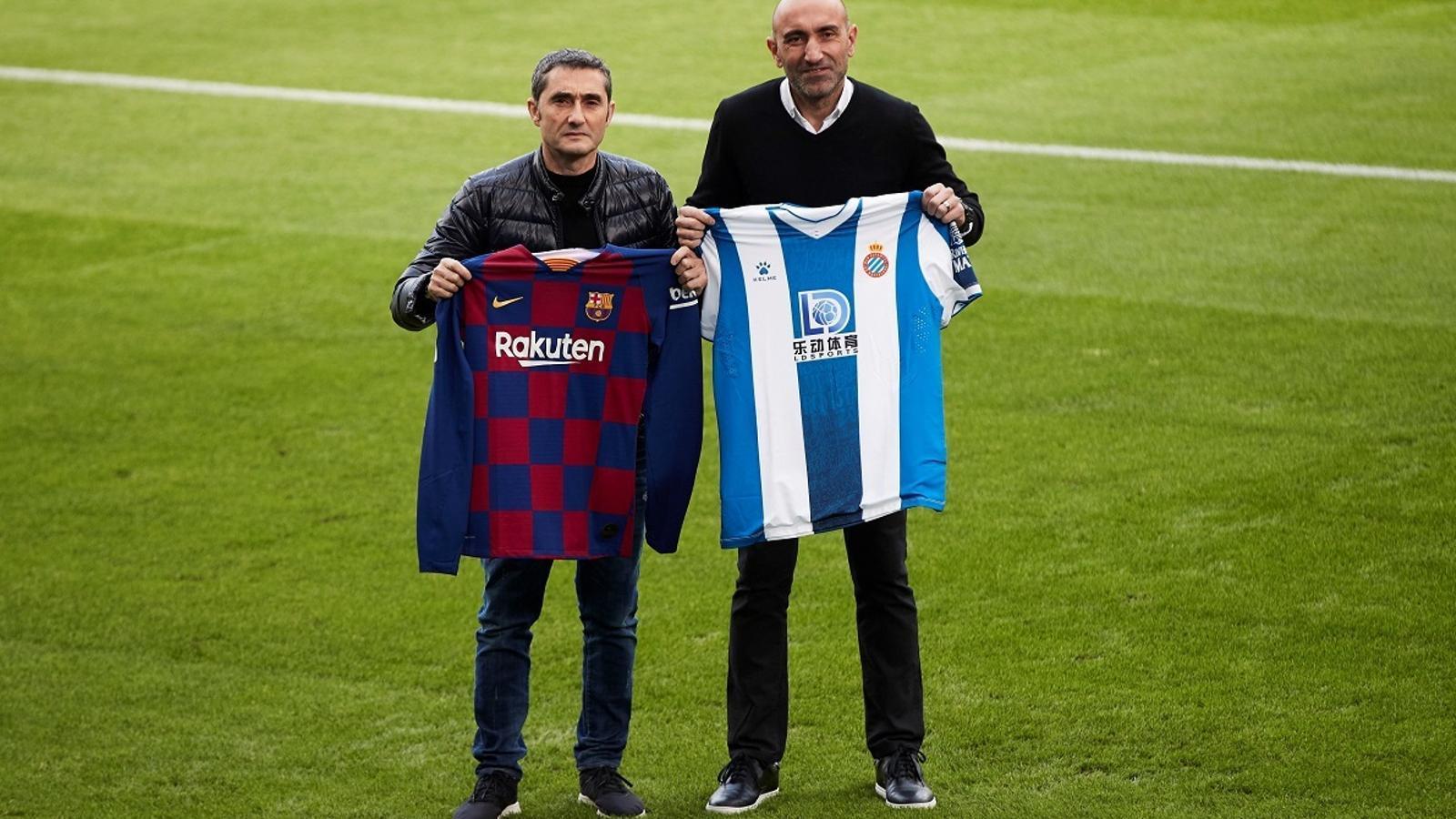 "Valverde: ""M'agradaria que l'Espanyol mantingués la categoria"""