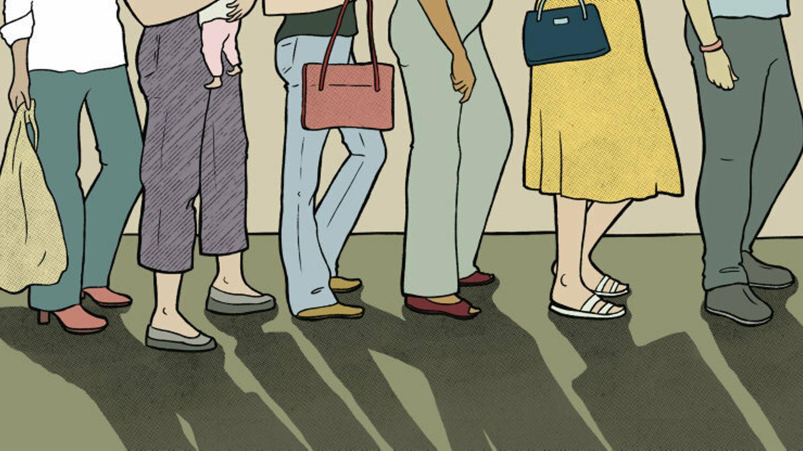 Cues als lavabos de dones,  una discriminació més