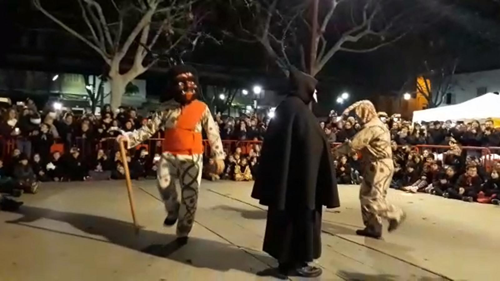 Vídeo del primer ball dels dimonis de Manacor