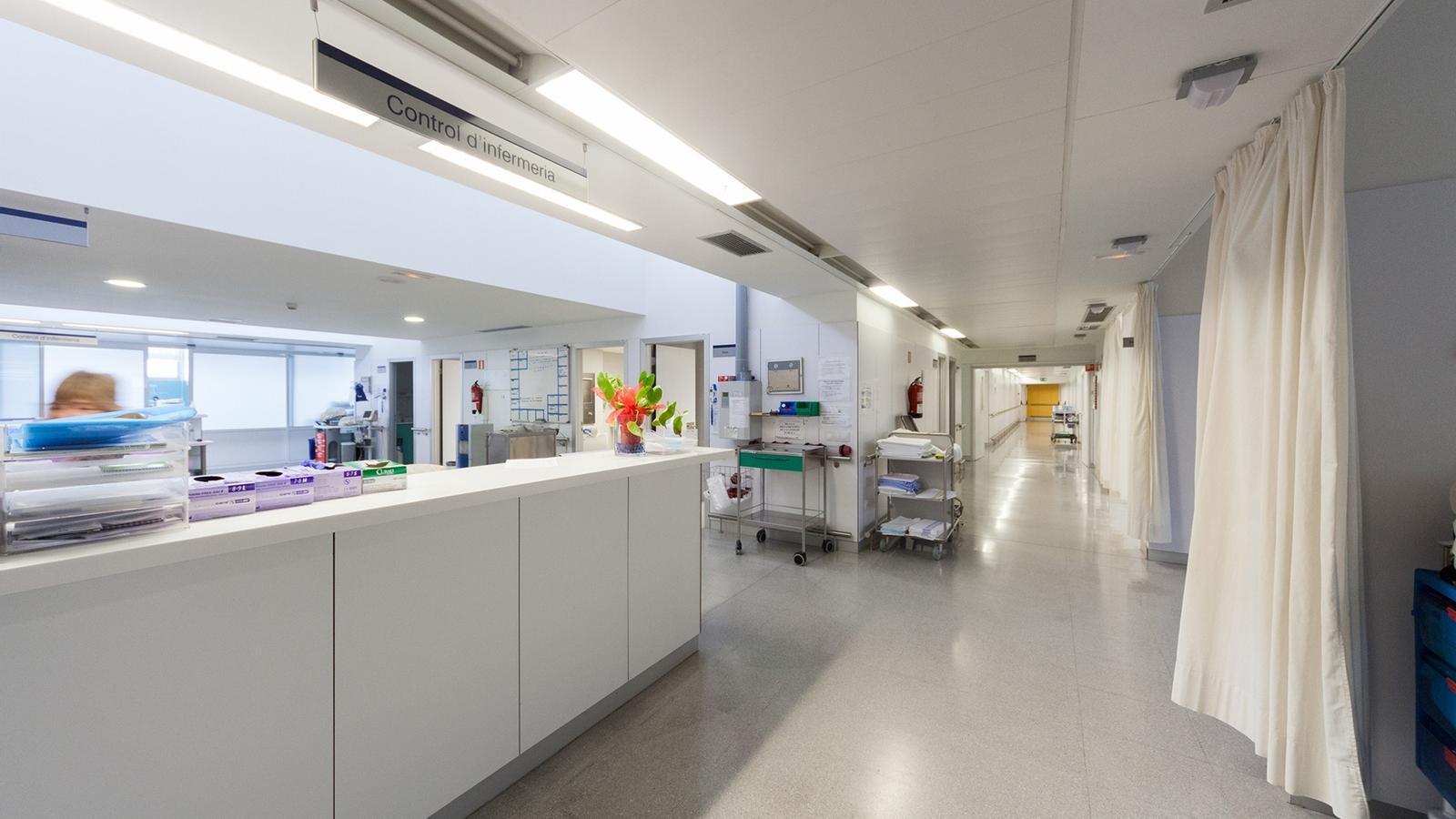 Un centre hospitalari.