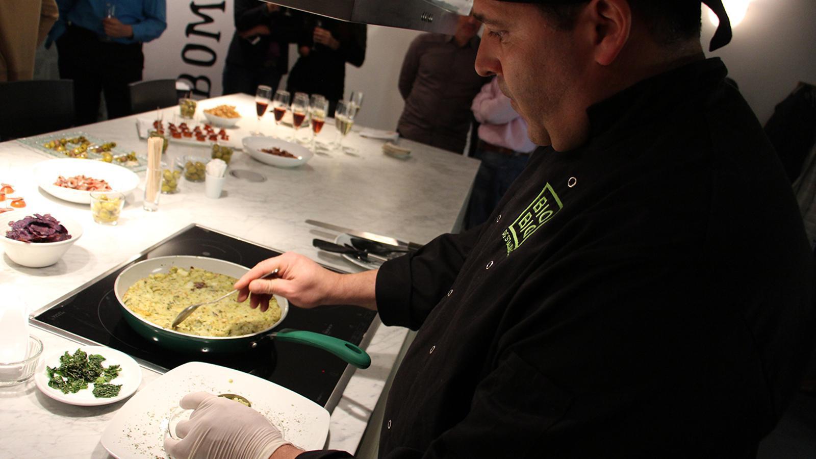 Alguns dels aperitius que es podran aprendre amb els tallers, de la mà dels mateixos xefs. / M. M. (ANA)