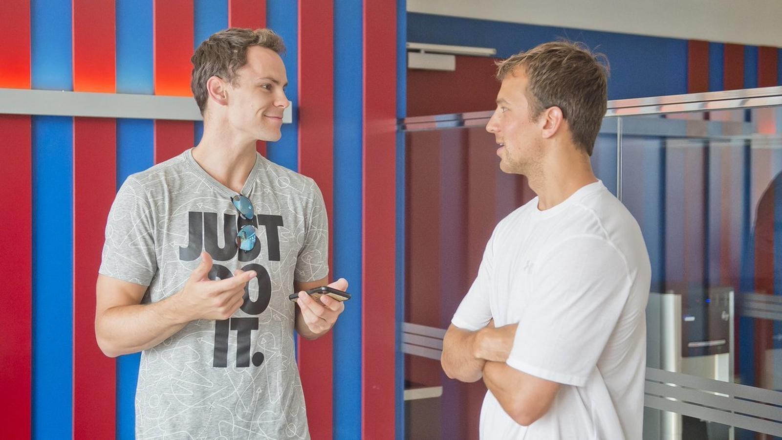 Kyle Kuric i Kevin Pangos