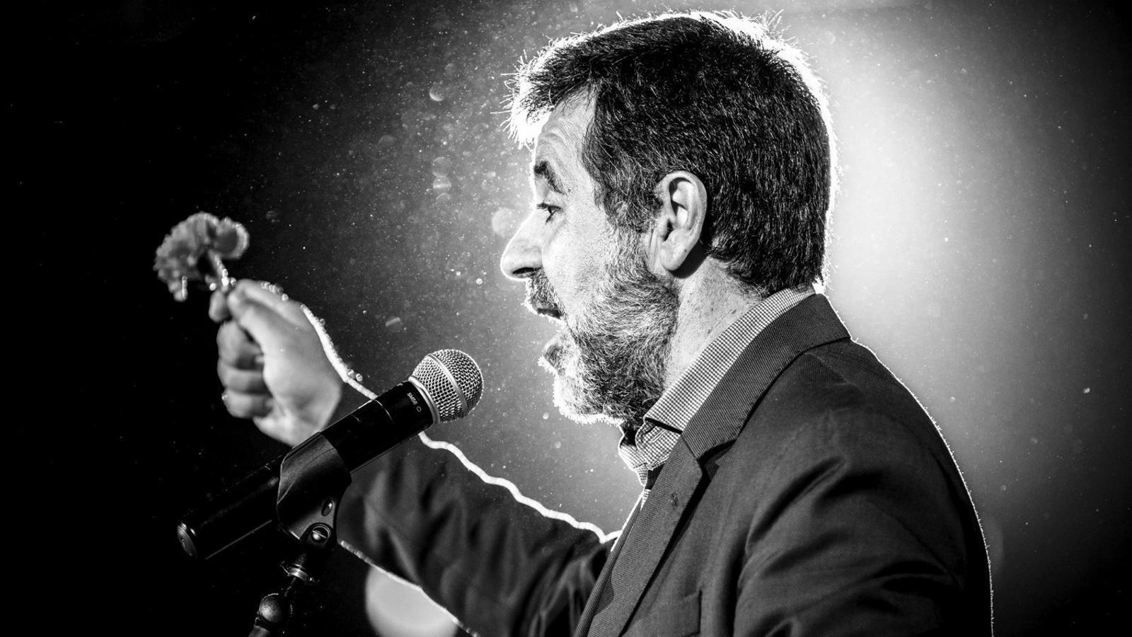 """Jordi Sànchez: """"Gràcies a l'impacte i la commoció de la vaga de fam, el TC ha obert el calaix"""" / MATTHIAS OESTERLE / EFE"""