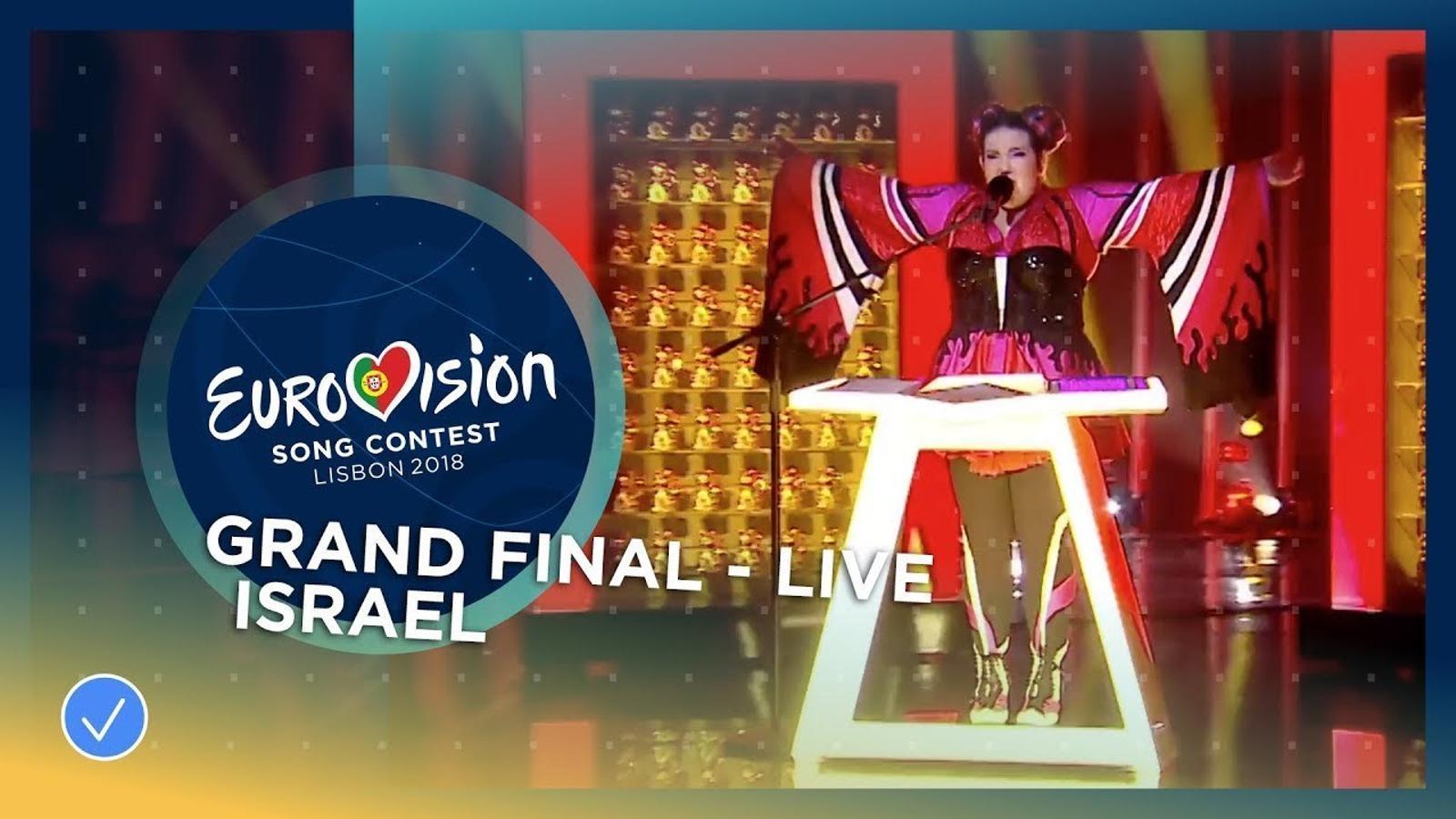 Israel guanya Eurovisió 2018