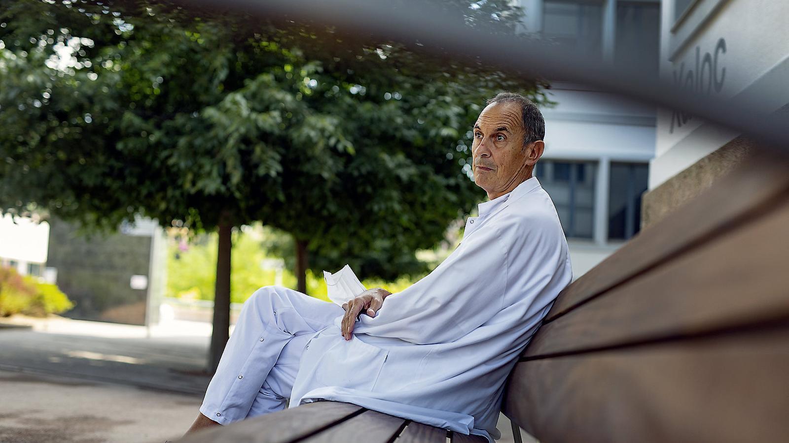 El psicòleg Xavier Clèries ha atès sanitaris del Pere Virgili.