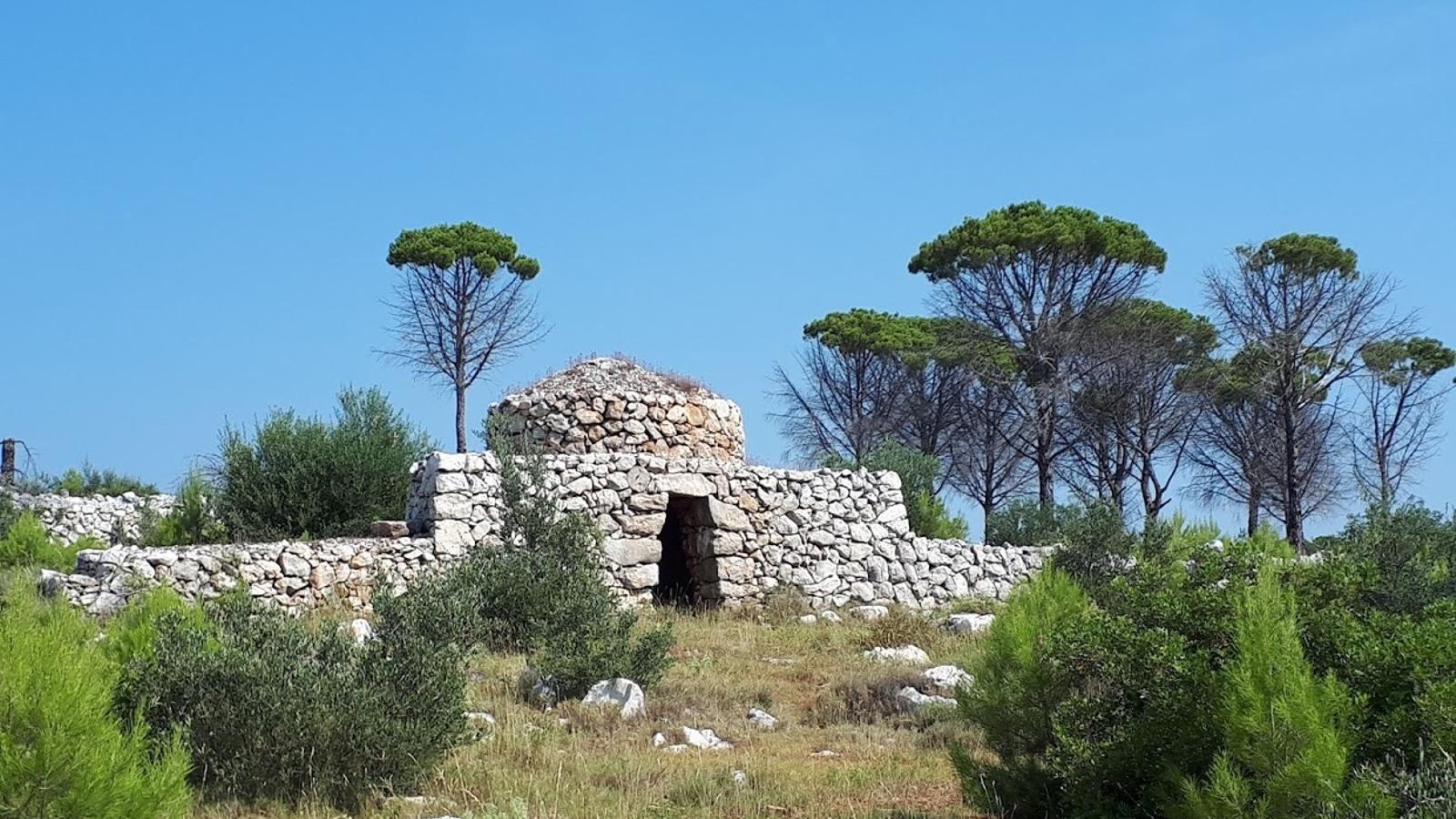 Una cabana de pastors i agricultors feta amb la tècnica de la pedra seca