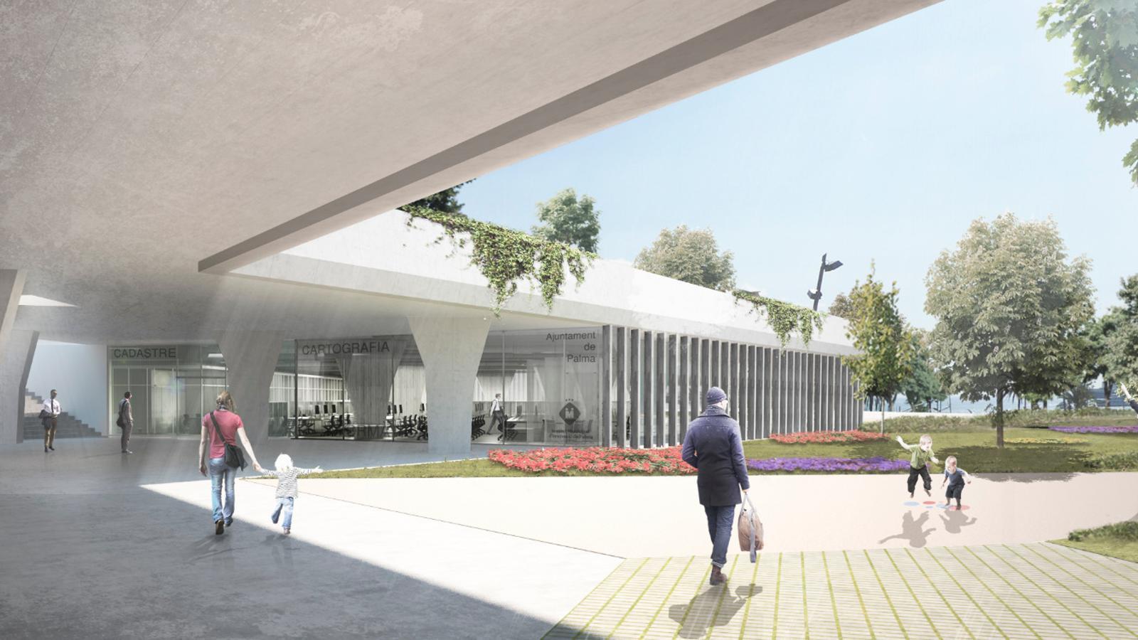 Imatge de les futures instal·lacions de l'IMI