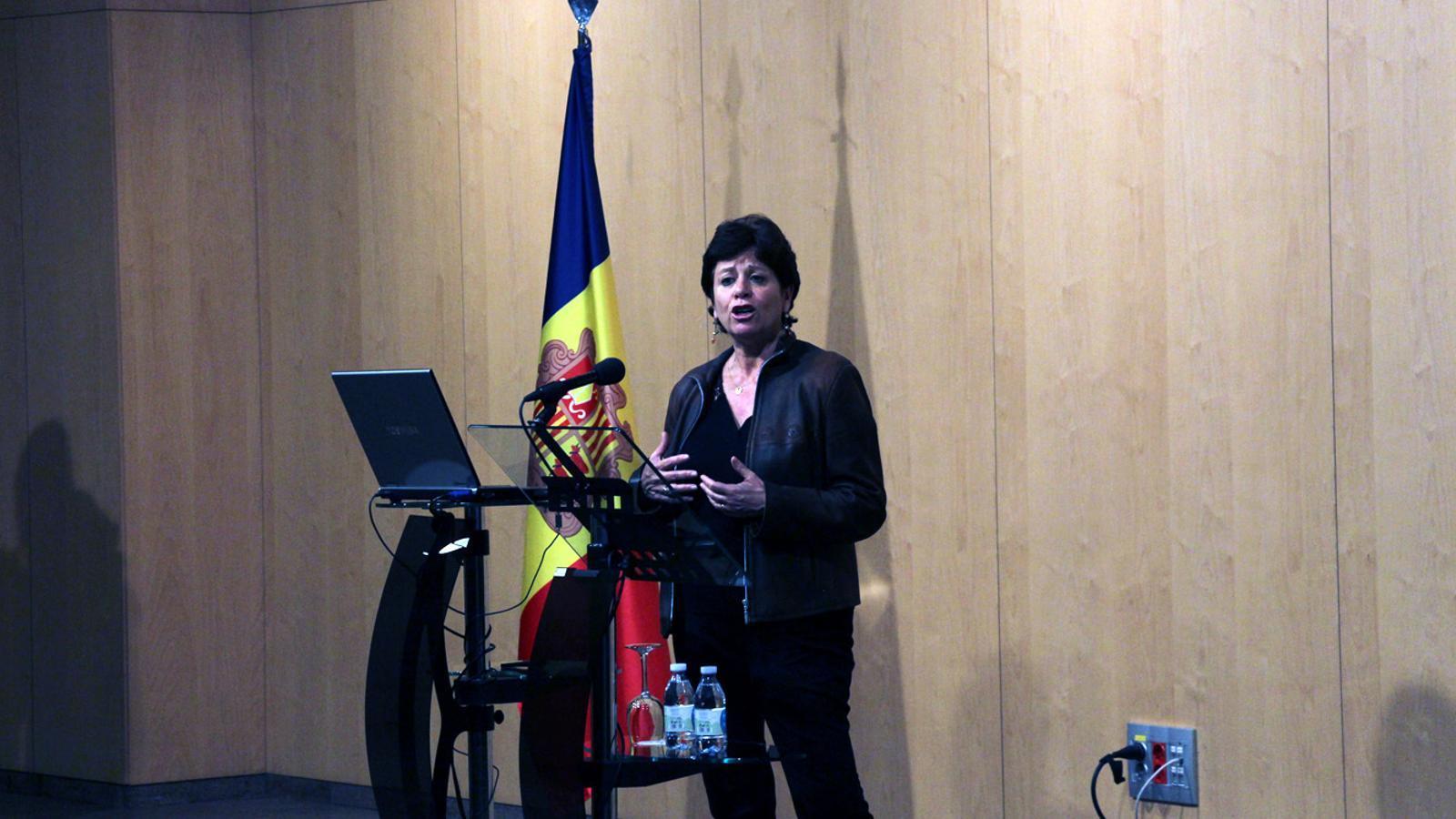 Cristina Rodríguez, en una imatge d'arxiu. / ARXIU ANA