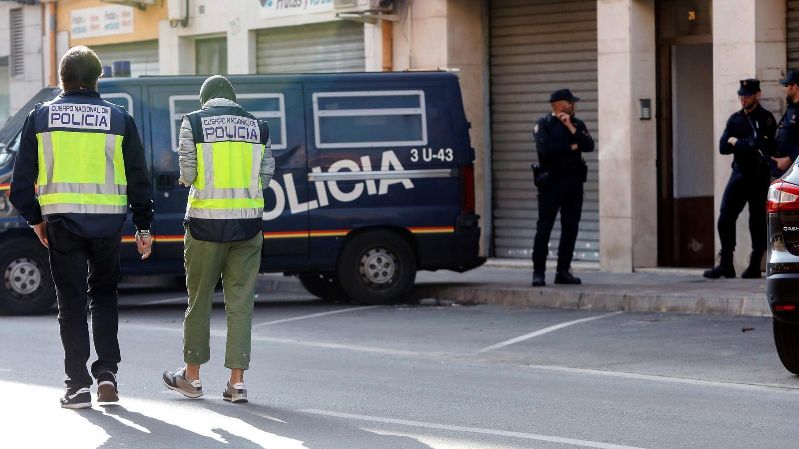 Domicili de la localitat valenciana d'Alaquàs on s'ha detingut a un presumpte jihadista
