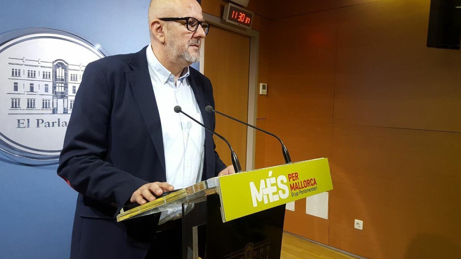 Miquel Ensenyat, diputat de MÉS per Mallorca