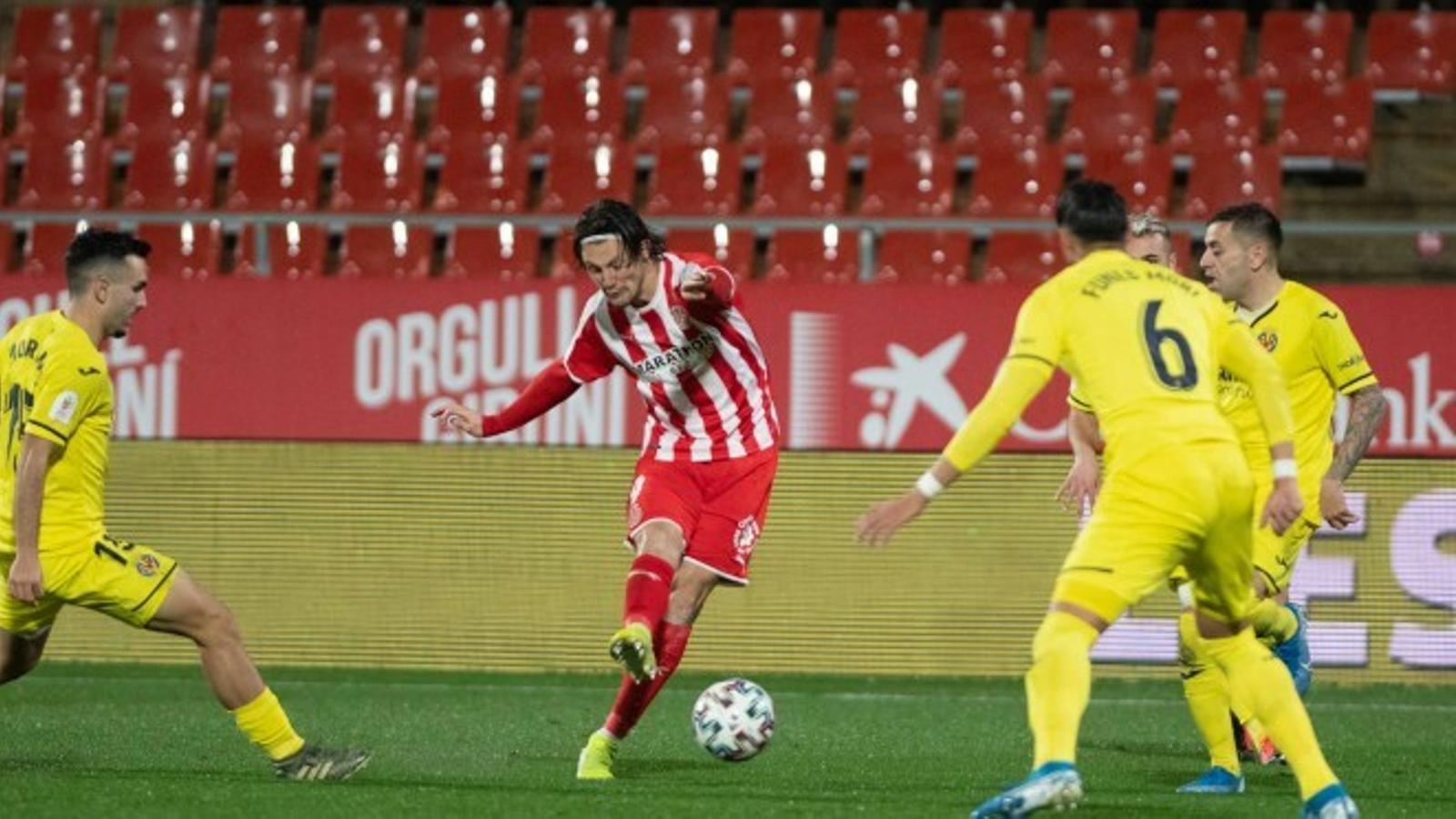 Marc Gual, el primer jugador del Girona en marxar