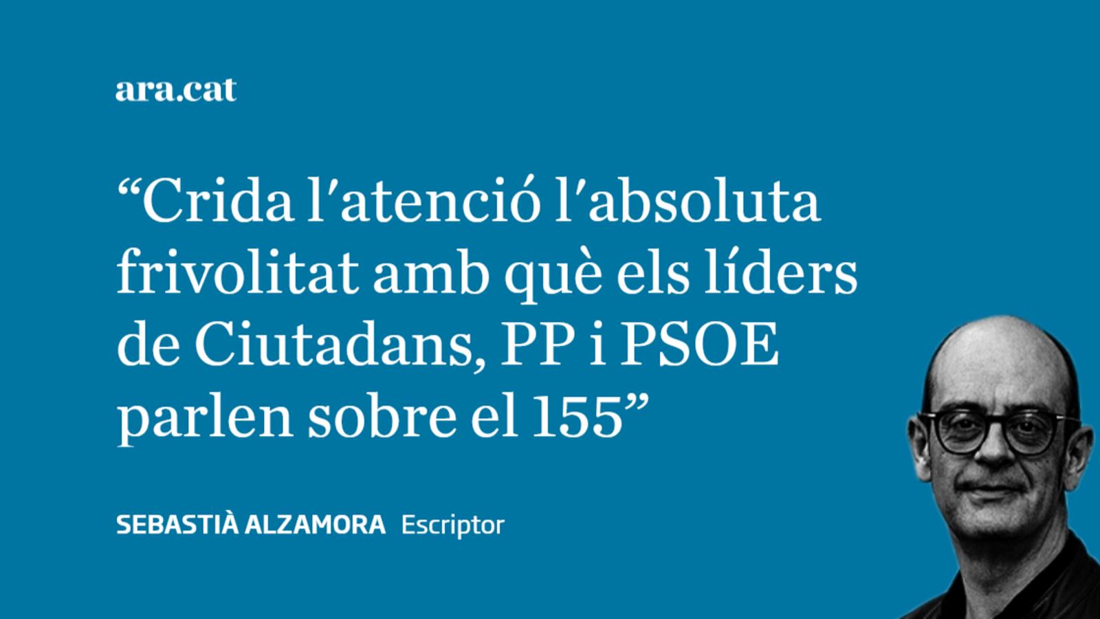 PSOE, Cs i el 155