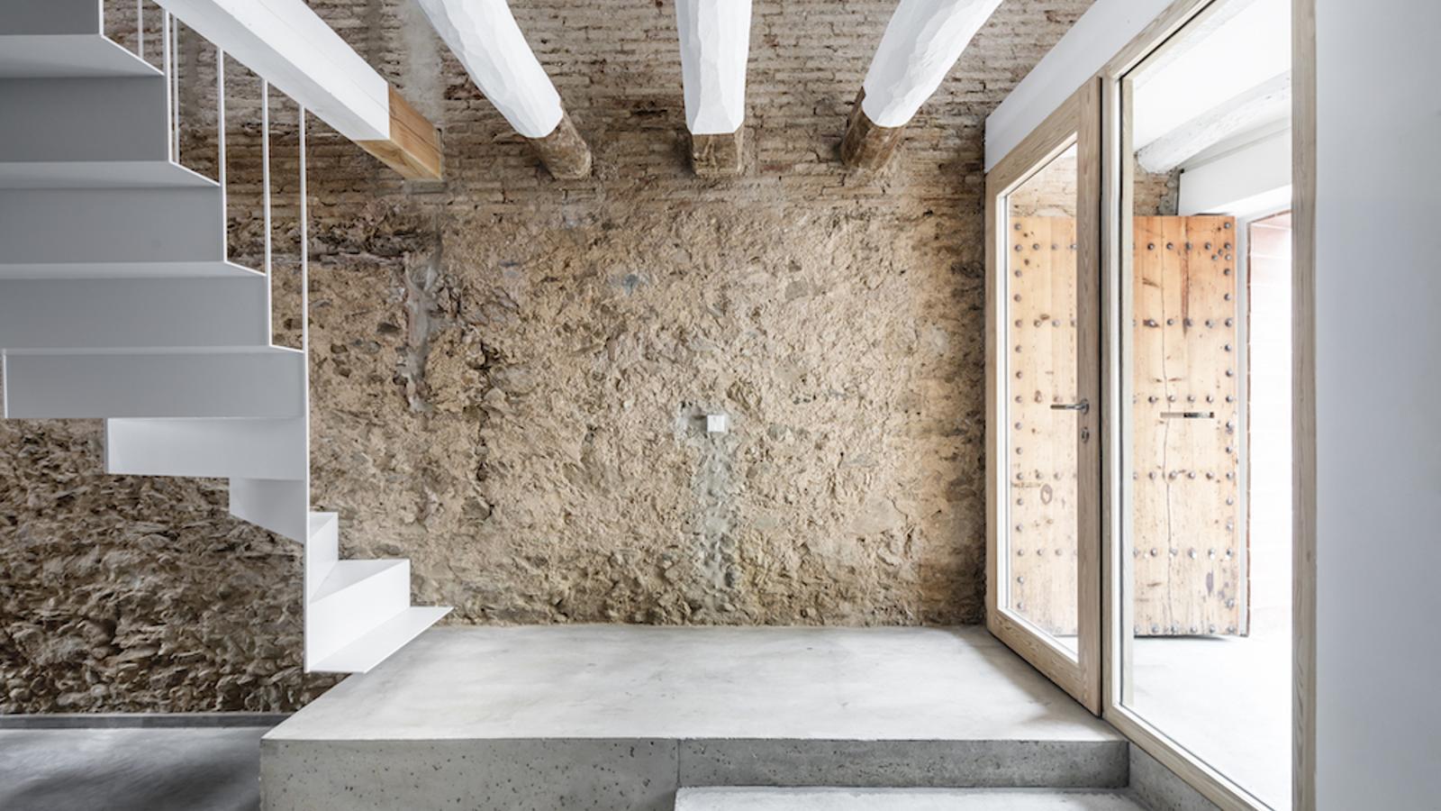 La nova sensibilitat de l'arquitectura tradicional