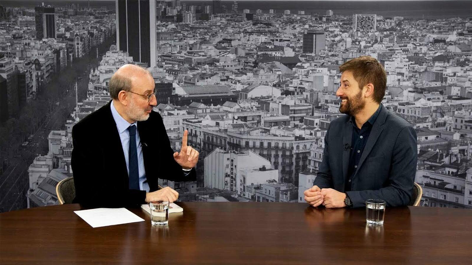 Entrevista d'Antoni Bassas a Toni Cruanyes